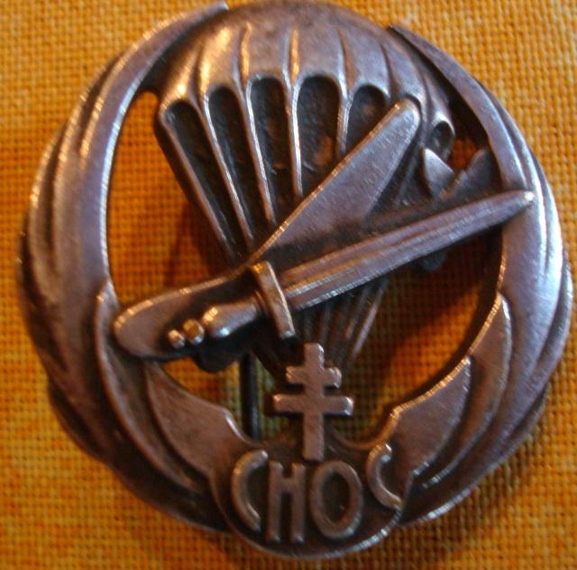 LES INSIGNES DU BATAILLON DE CHOC 1943/1963. 850035DSC09395