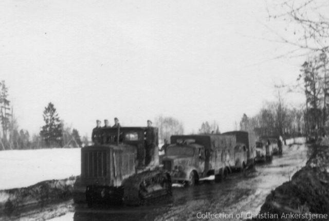 tracteur d artillerie soviétique chtz s-65 version allemande 1/35 trumpeter,tirant 2 blitz de la boue 85050200208