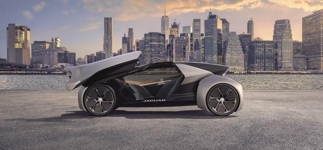 Concept Jaguar Future-Type : La Vision De Jaguar Pour 2040 Et Au-Delà 850885futuretypecity02