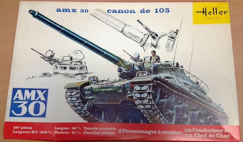 AMX 30 canon de 105 1/35ème Réf L 810 850932HellerAMX30105810000
