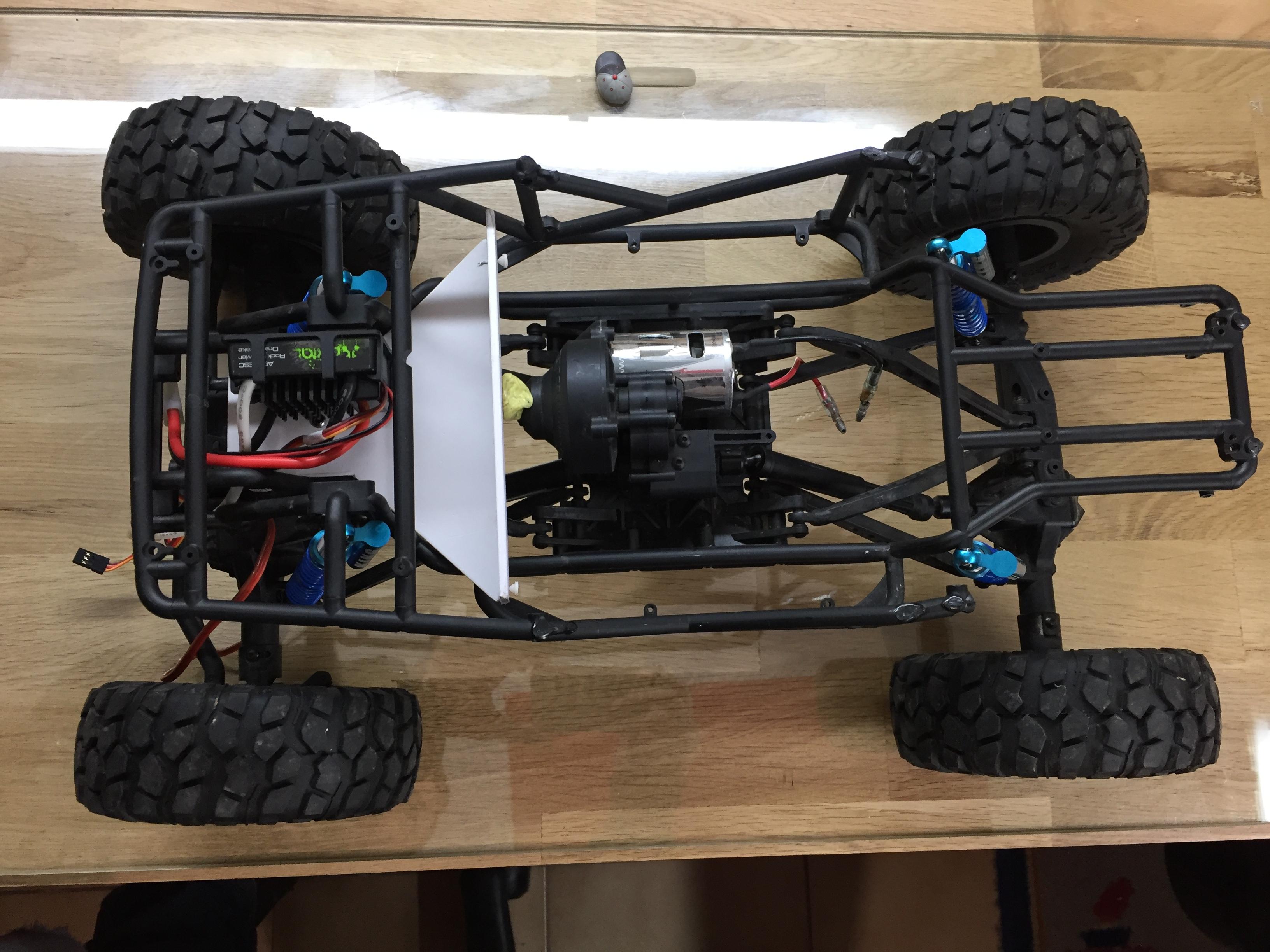 Jeep Rubicon Wraith New Bright 8512624014