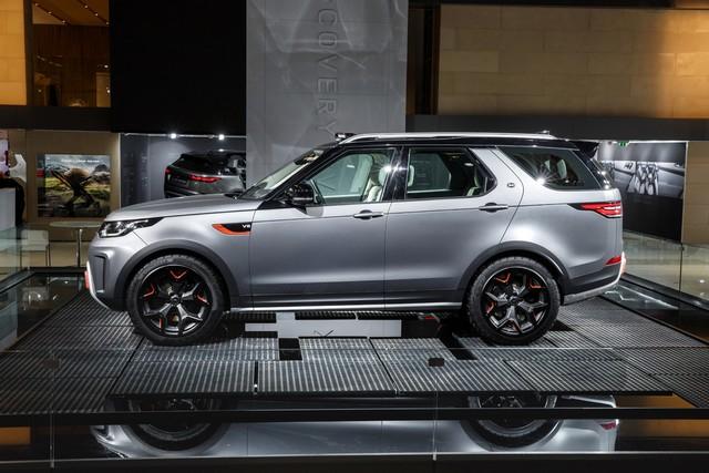 Nouveau Discovery SVX : Land Rover dévoile son champion tout-terrain au Salon de Francfort 851390jlrfrankfurt2017035