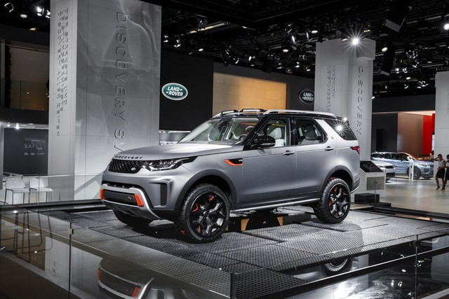 Nouveau Discovery SVX : Land Rover dévoile son champion tout-terrain au Salon de Francfort 852329jlrfrankfurt2017026