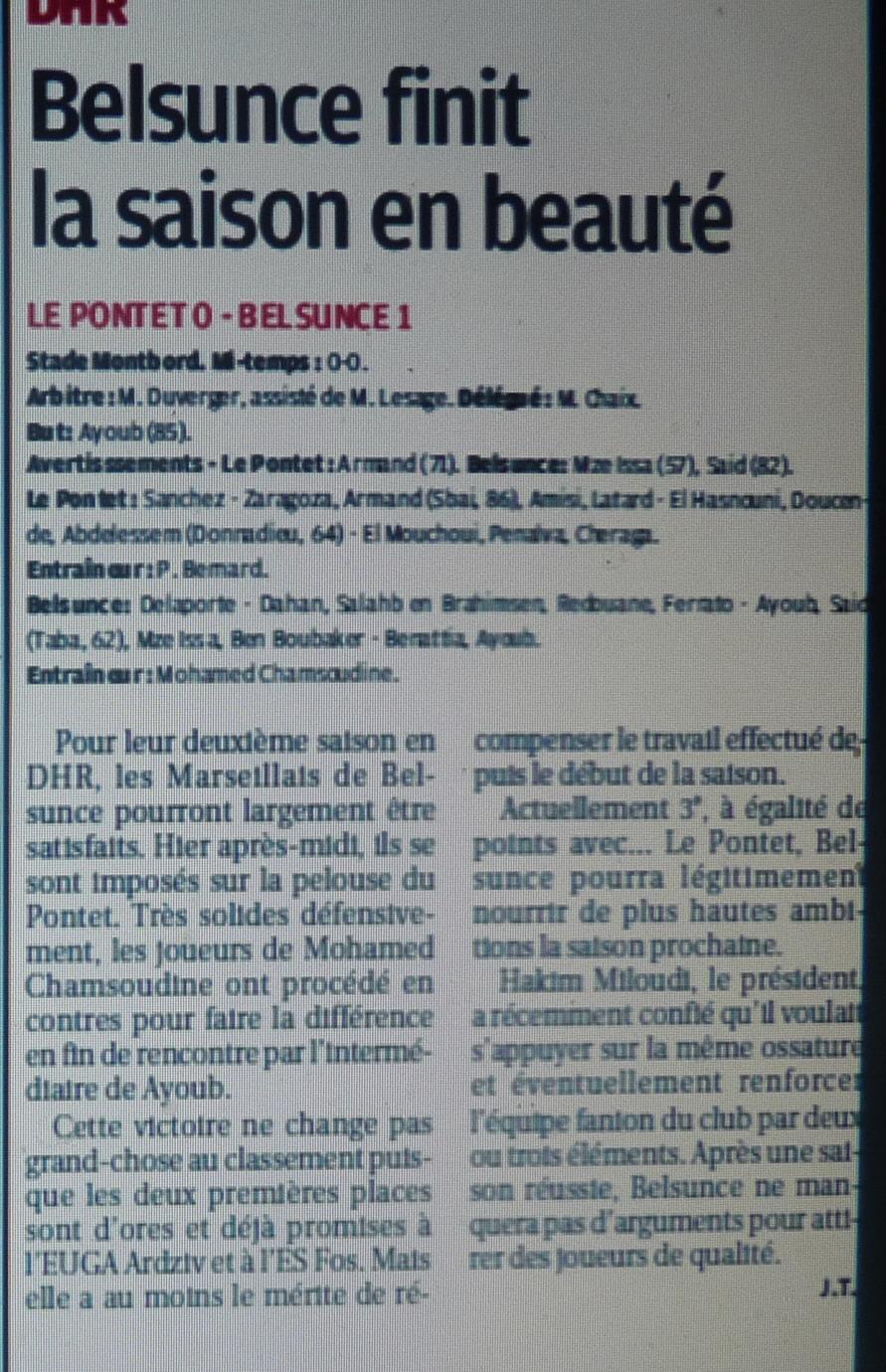 LE PONTET JEUNES RESERVES   US PONTET B / DH MEDITERRANEE  853307P1160880