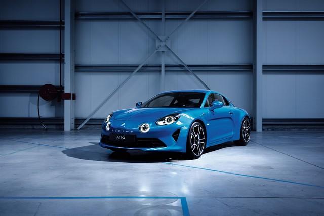Alpine est de retour - A110, la voiture de sport française agile et compacte 8554678778016