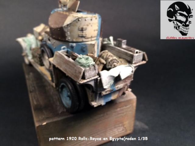Pattern 1920 Rolls-Royce MK1 en Egypte - (Roden 1/35) 856300peinturePattern008