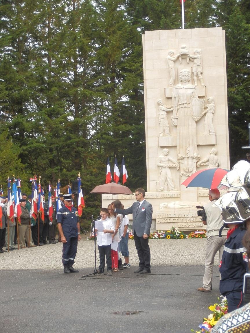 28 Juin 2014 70è Anniversaire de l'anéantissement du Maquis de Saffré 856502P6281317