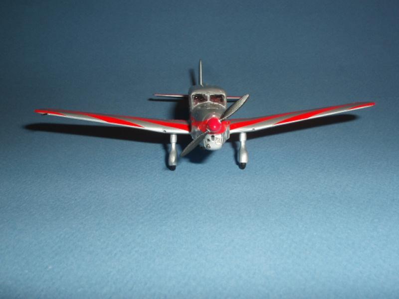 CAUDRON C-635 Simoun  (version Raid Paris-Tokyo). 1937  Heller 1/72. 856833caudronraid030