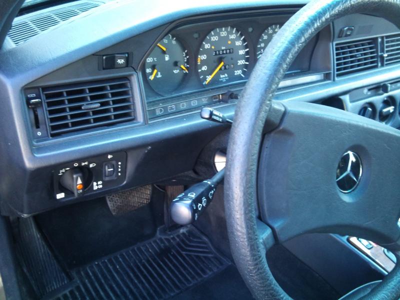 Mercedes 190 1.8 BVA, mon nouveau dailly 857053DSC2189