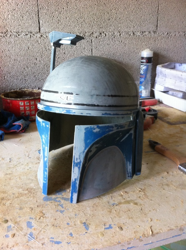 CUSTOMISATION CASQUE JANGO FETT 857758IMG4146