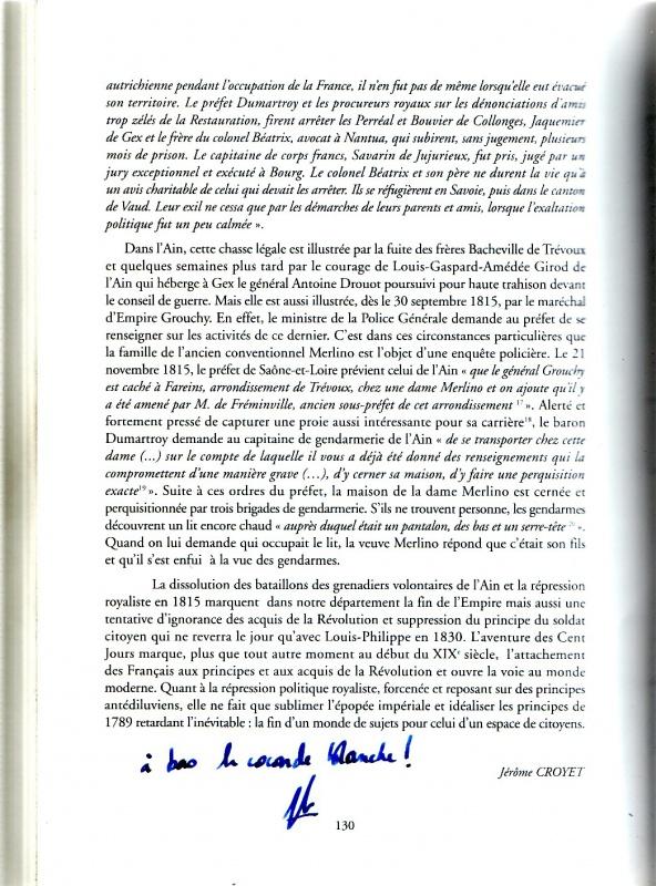 Les derniers feux de l'Empire, Campagne de France 1815 859755SanstitreNumrisation07a