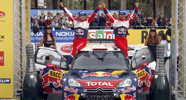 WRC Rallye d'Espagne 2011 ( Jour 3) Victoire Sébastien Loeb  8600112011rallyeespagneLoeb2