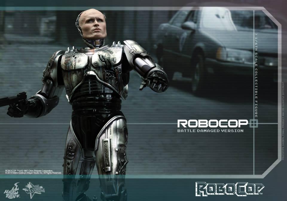 HOT TOYS - Robocop - Robocop (Battle Damaged Version) 860118105