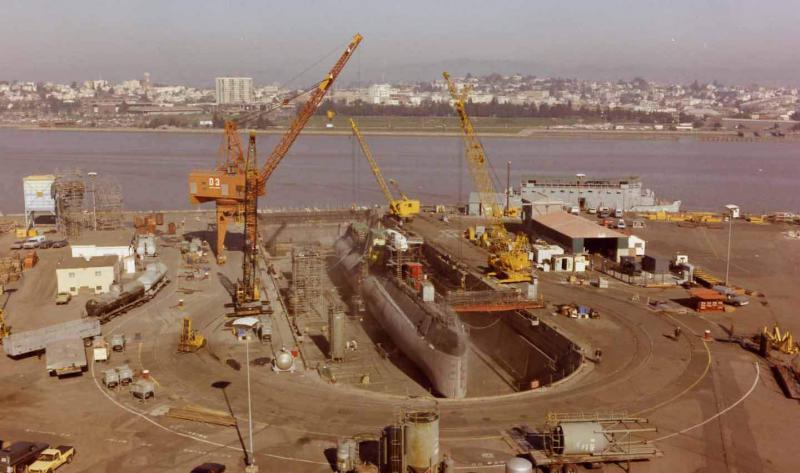 SOUS MARIN NUCLEAIRE D'ATTAQUE USS NAUTILUS 860456USSNautilusdsactiv2