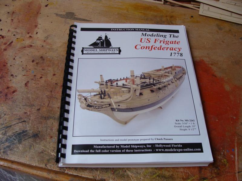 "US  Frigate CONFEDERACY 1778  de Model Shipways  au3/16"" 861424DSC01865"