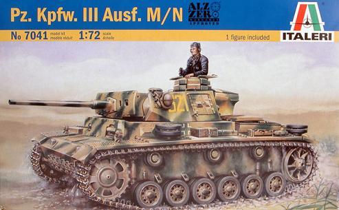 Panzer III Ausf.N - 1/72° 8639481