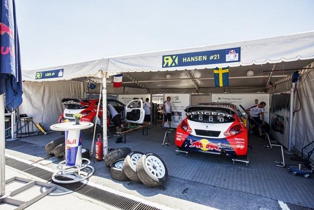 Les PEUGEOT 208 WRX Vice-Championne du Monde FIA de Rallycross 864213MG4008