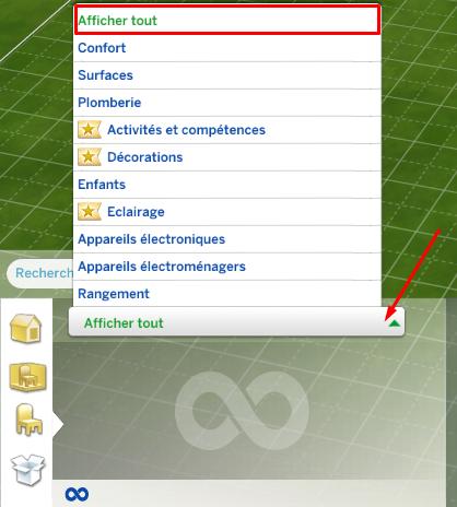 Trouver les objets cachés du jeu Les Sims 4 (le mode débogage / debug) 864485684