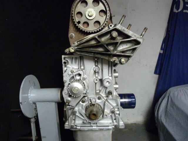 TUTO , remplacement kit distribution et pompe a eau 866422P1130876