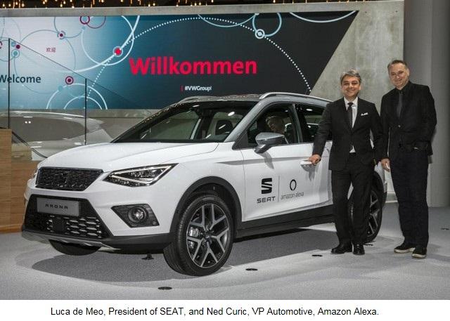 SEAT, première marque automobile en Europe à intégrer Amazon Alexa dans ses véhicules 867592SetRatioSize900650SEATIAA02