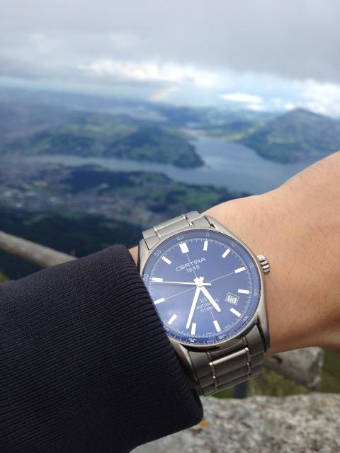 Retour de Suisse avec une montre -> Certina 867719IMG2338