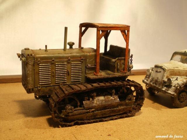 tracteur d artillerie soviétique chtz s-65 version allemande 1/35 trumpeter,tirant 2 blitz de la boue - Page 2 871021IMGP2295