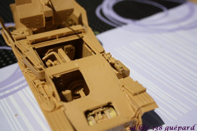 sd.kfz 140 flakpanzer (gépard) maquette Tristar 1/35 871104IMG1621