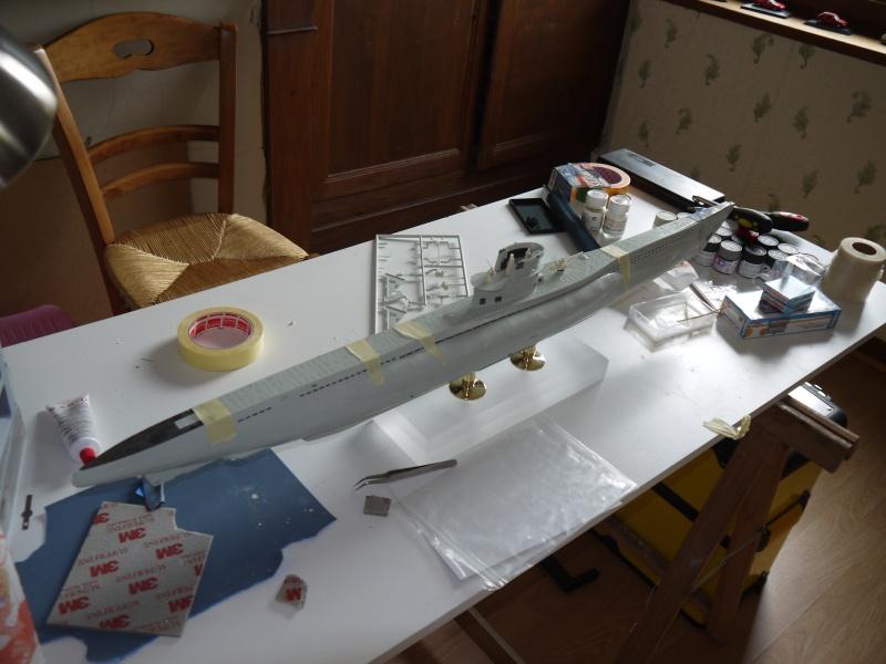 U boat VIIc  Set pe résine Eduard / CMK 873335P1020211
