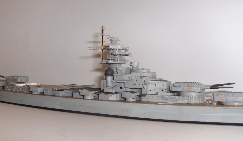 Bismarck 1/700 [Trumpeter] 873834HPIM2011