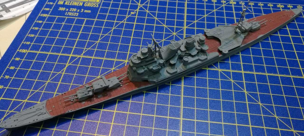 Croiseur TAKAO 1944 1/700 Pit-Road 874279Takao22