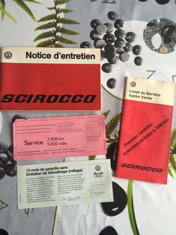 La voiture de madame : Scirocco GT 1976 1ère main 8770845454