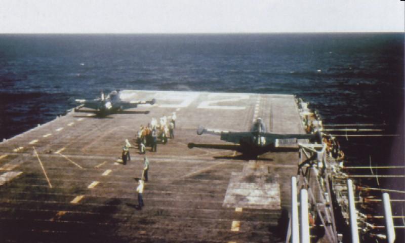 GRUMMAN F9F PANTHER  877559USS_Leyte_Panther