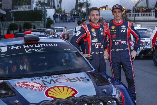 Rallye Monte Carlo Une Victoire En Power Stage pour Consoler Hyundai Motorsport  87756715142017montecarlosv148