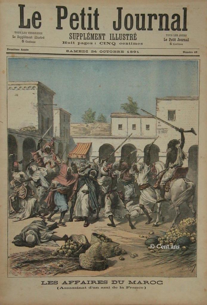 صفحات من تاريخ المغرب الحديث من خلال Le Petit journal illustré - صفحة 3 880269pj04824101891