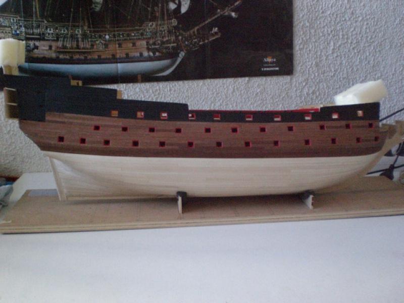 Sovereign of the Seas : Partie-2 (Altaya 1/84°) par DAN13000 - Page 2 881464CIMG2446