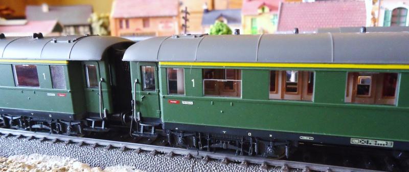 Roco ho: voitures de la DB pour train express 881724DSC03558