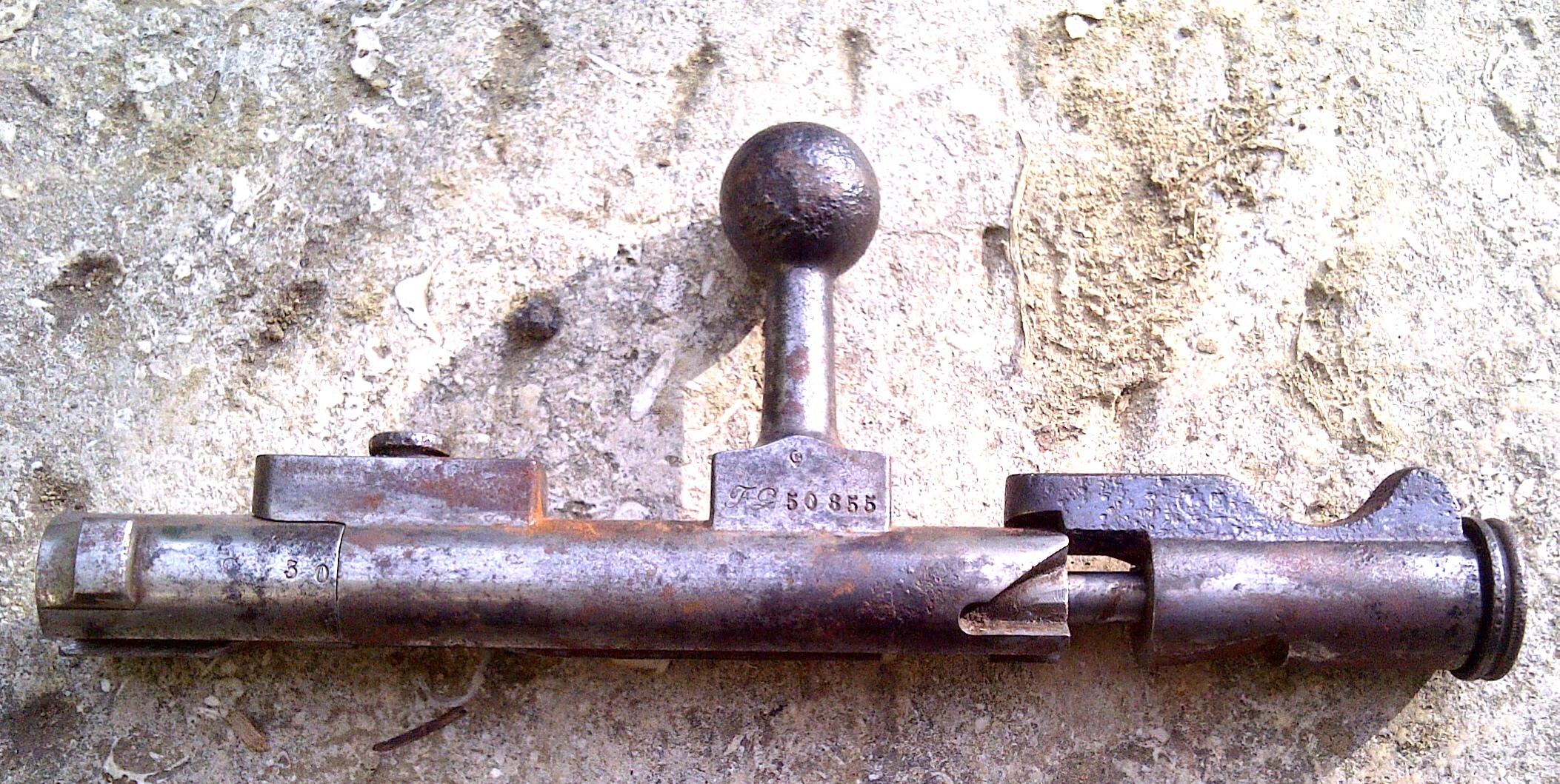 Culasse de Berthier 1907/15 882306culasse1