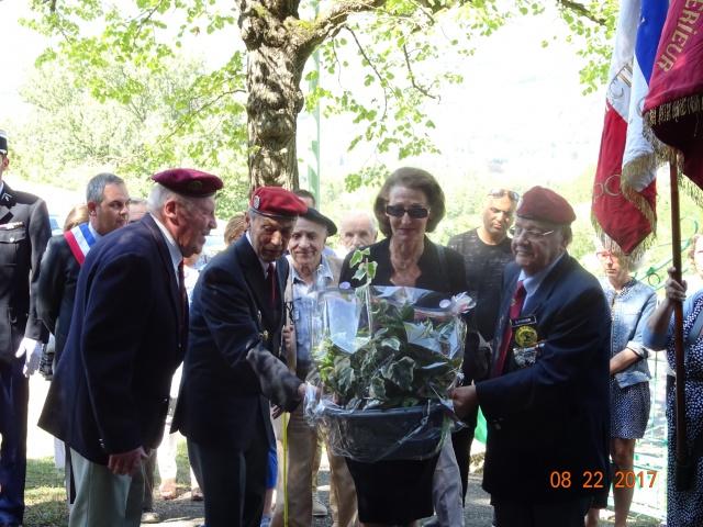Chocs parachutés , libération Pont de Claix , Grenoble Août 1944 882692DSC01244min