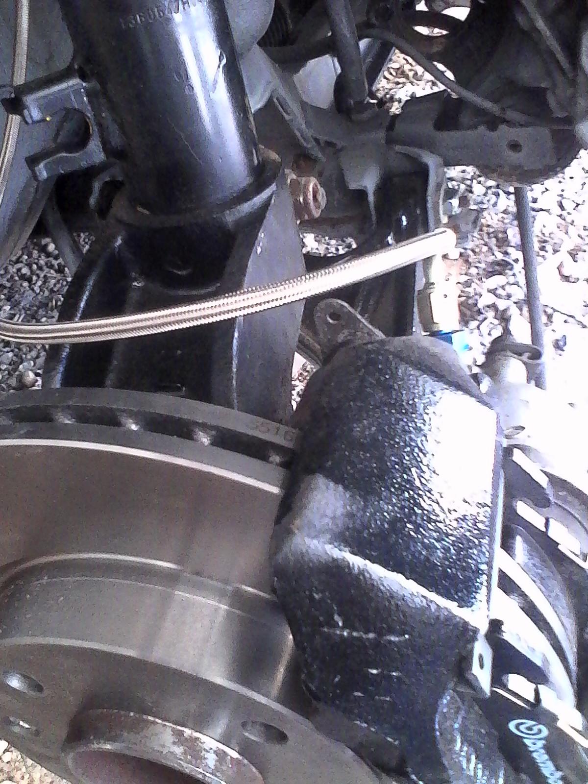 montage disques et plaquettes de freins + durites de freins 883708lulu4019