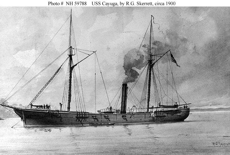 LANDING SHIP TANK (LST) CLASSE NEWPORT  884616USSCayuga1861