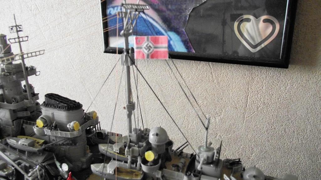 Tirpitz Revell au 1/350° 885392TipitzRevell1x35016