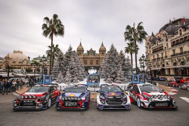 Rallye Monte Carlo Une Victoire En Power Stage pour Consoler Hyundai Motorsport  88564315212017montecarlosv131