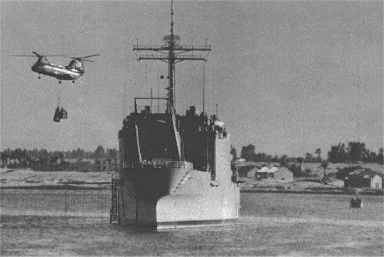 LANDING SHIP TANK (LST) CLASSE NEWPORT  885908USSBoulderLST1190