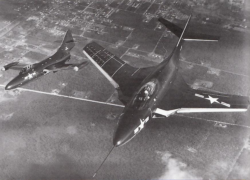 GRUMMAN F9F PANTHER  888136F9F_5_XF9F_6_Cougar