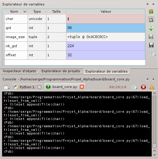 [Python]Spyder, le super éditeur de code, et aide au debug 889064debuggagespyder5