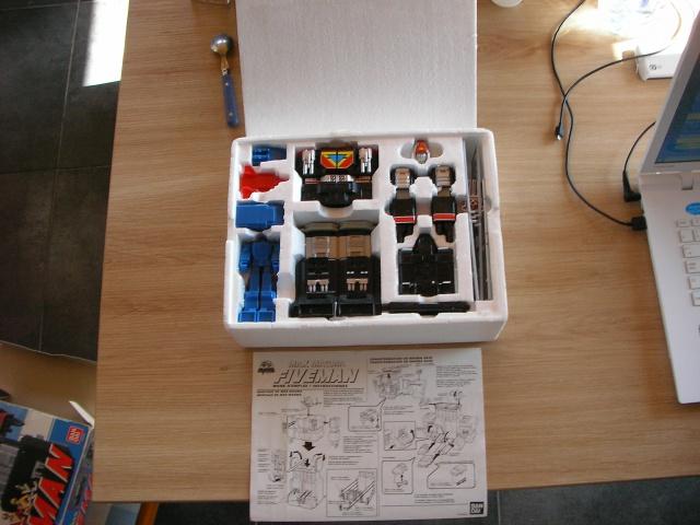 La gamme de jouets Fiveman - Bandai 889253SANY0011