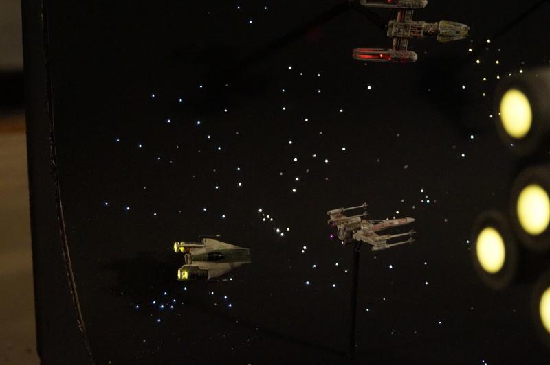 STAR WARS : Diorama Flotte rebelle - Page 4 889434DSC00810