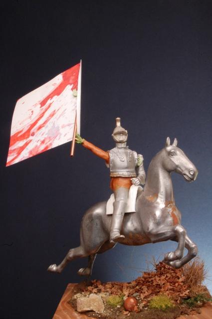 Jacquemin et le drapeau de Arkhangelogorod - Austerlitz 1805 8900872015092308