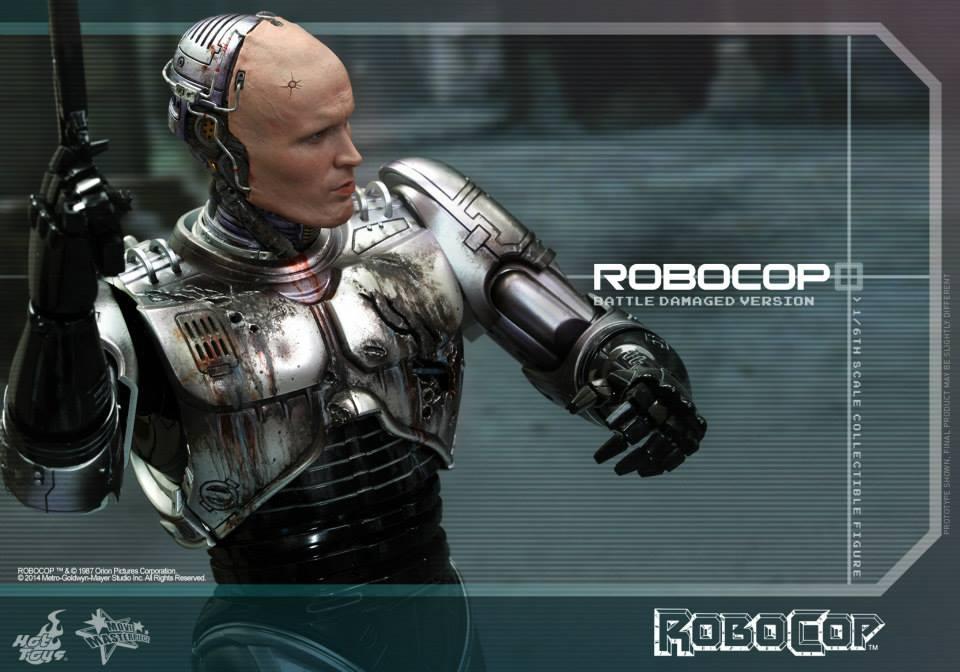 HOT TOYS - Robocop - Robocop (Battle Damaged Version) 891300107
