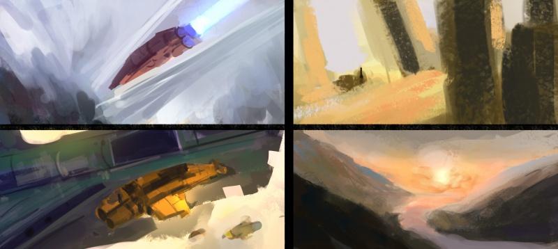 Blop is painting - LE RETOUR SANS CONCESSIONS 892147speed89